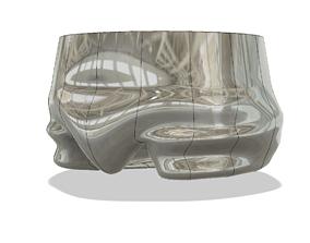 vase cup vessel underpants trh02 for 3d-print or