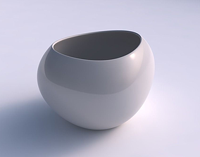 3D printable model Bowl compressed 2 smooth