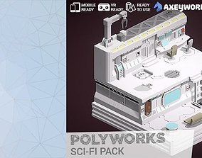 3D asset PolyWorks Sci-Fi Pack