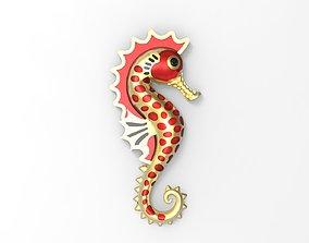 3D seahorse Seahorse