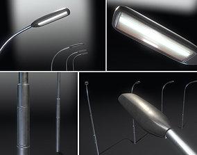 Street Light 11 -Pole 1- Version 2 3D asset