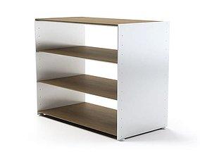 Small Neat Storage Unit 3D model