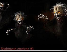 3D model Nightmare Creature 3