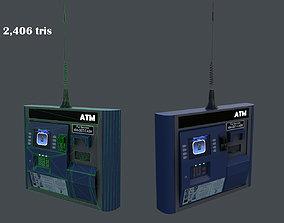 ATM machine 3D asset