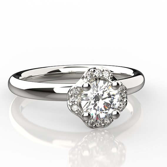 solitaire ring 2021-002