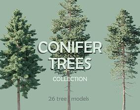 3D Conifer Trees