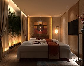 3D model Spa Wellnes Massage Therapy