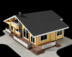 3D animated Family House