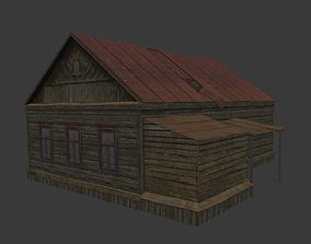 3D model Old Village House 3