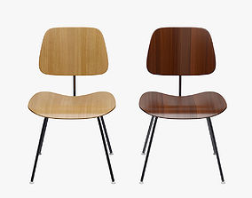 3D PBR Eames DCM Dining Metal Chair