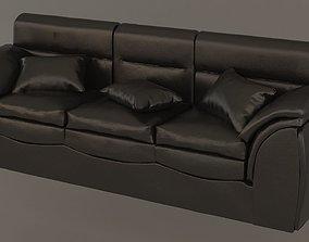 leather sofa sit 3D model