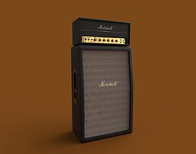 Amp Guitar Marshall 3D model