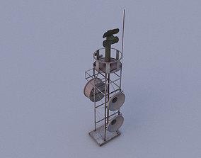 3D model Radar 03