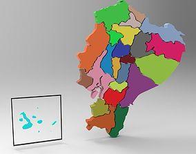 Ecuador 3D