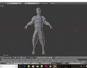 Star warrior 3D model