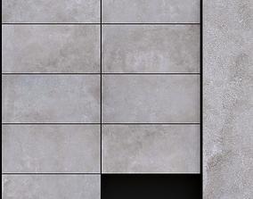 3D ABK Solutions Facktory Silver 300x600