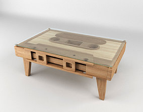 3D Cassette Tape Coffee Table