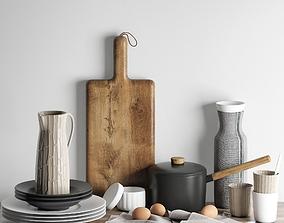 Kitchen decoration set 2 3D model