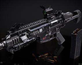 FN Scar-SC SMG 3D model