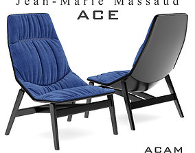 3D model Ace armchair 2