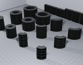 literature 3D Laboratory bookcases