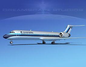 3D Boeing 717-200 Eastern