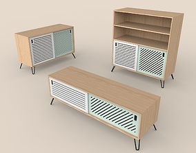 3D model Pointillee Media Unit Collection