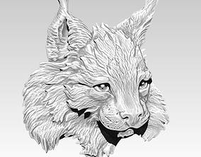 Lynx cat wild cat puma tiger Detailed 3D printable model