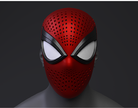 Spider-Man PS4 Advanced Suit Faceshell 3D Printable