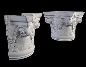 OracDecor K1121 and K1122 Columns 3D asset