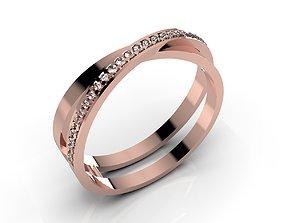 Women Ring - CAD-09 3D print model