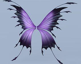 Fairy or Butterfly Wings Set C 3D model