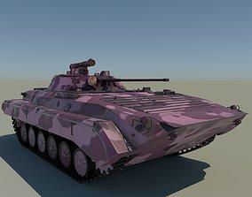 3D asset Pink BMP-2