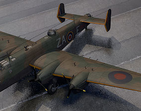 Handley Page Halifax Mk-2 3D