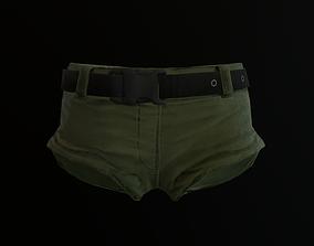 3D asset Shorts