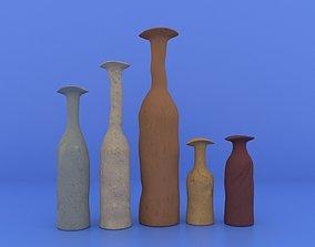 Mexican Vases 3D asset