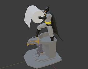 3D printable model BATMAN TOILET PAPER HOLDER