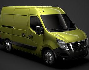 3D Nissan NV 400 L1H2 Van 2020