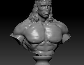 3D print model Conan bust