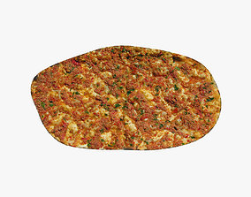 3D model Turkish Lahmacun