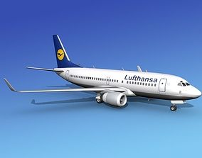 Boeing 737-700ER Lufthansa 3D