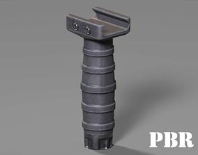 3D asset Vertical Grip - Foregrip - Weapon Attachment - 3