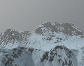 3D asset Land of the Ice and Snow