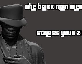 nude Whatsapp Black Man Meme 3D print model