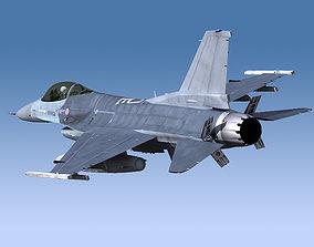 3D model F-16 General Dynamics