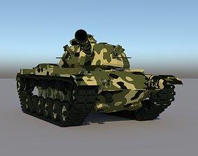 3D model M60A3 PATTON