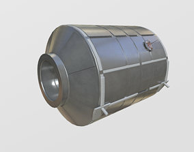 Permanent Multipurpose Module PMM module on 3D