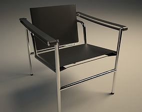 Sling Chair LC1 3D model