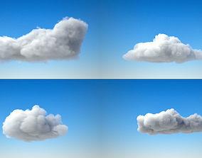 3D model rain Volumetric clouds VDB