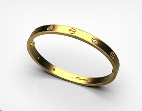Bracelet LOVE 3D printable model